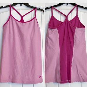 MEDIUM Women's Pink Nike Workout Tank Top